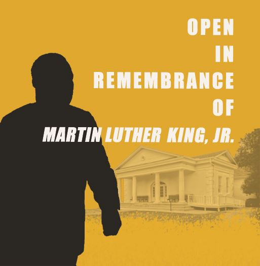Open in Remembrance of Martin Luther King, Jr. Flyer