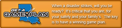 Get a game plan - When a disaster strikes, will you be ready